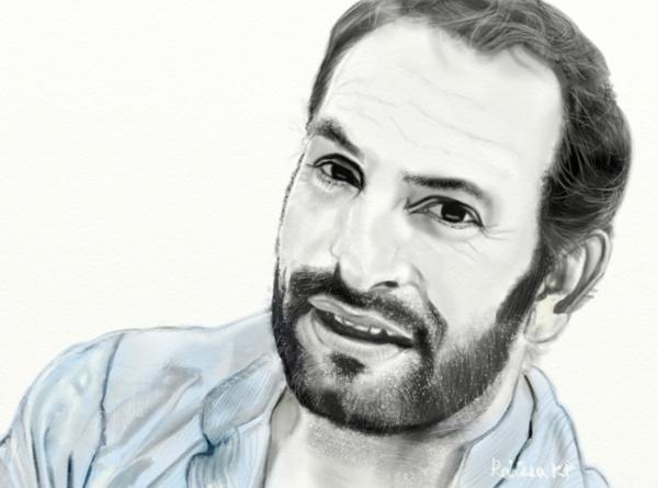 Jean Dujardin por RaissaKP